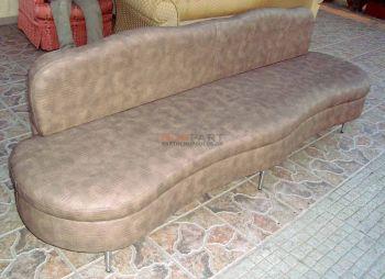 Κατασκευή καναπέ για κομμωτήριο