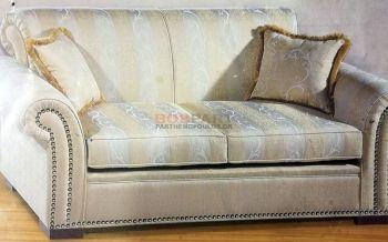 Κλασσικός καναπές με καμπαραδες - κατασκευή