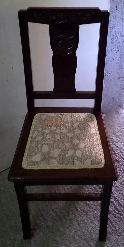 Επισκευή καρέκλας με αντικατάσταση ψάθας