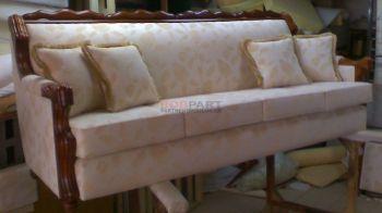 Επισκευή σαλονιού - καναπές με πολυθρόνα