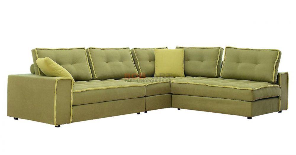 Γωνιακός καναπές 3 τεμαχίων