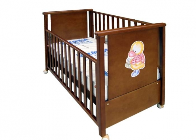 Κρεβατάκι παιδικό ped1