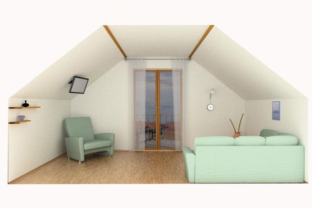 Ολοκληρώνοντας την οροφή - Ταπετσάρισμα