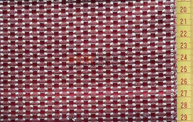 Ύφασμα επιπλώσεων pixel 2 Vent Red