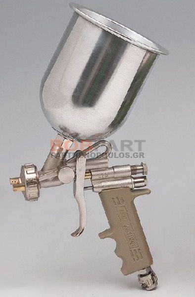Πιστόλι βενζινόκολλας με πάνω κάδο