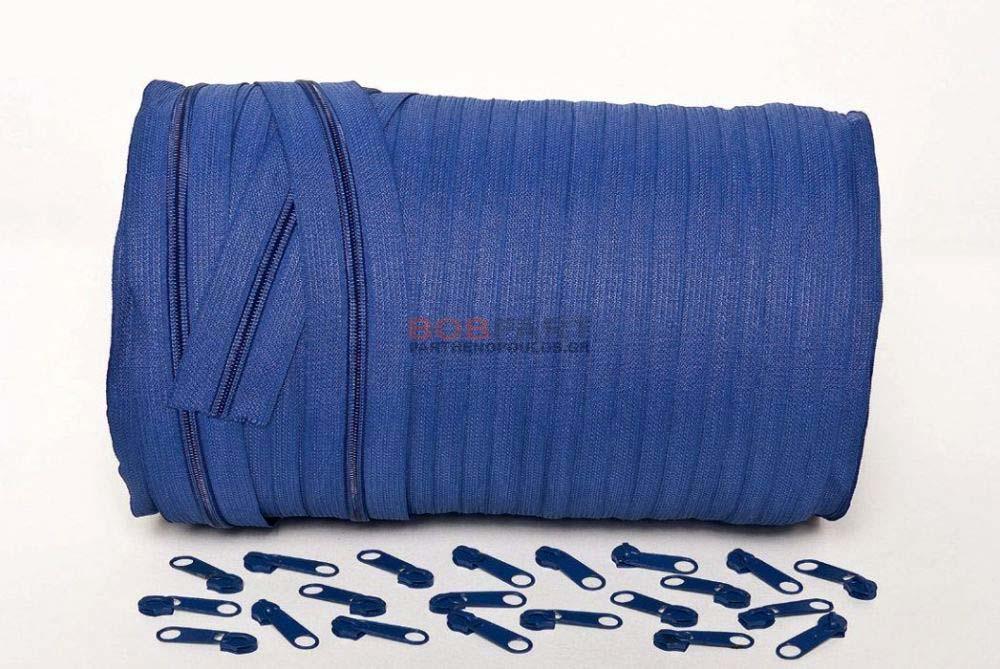 Φερμουάρ με το μέτρο Μπλε