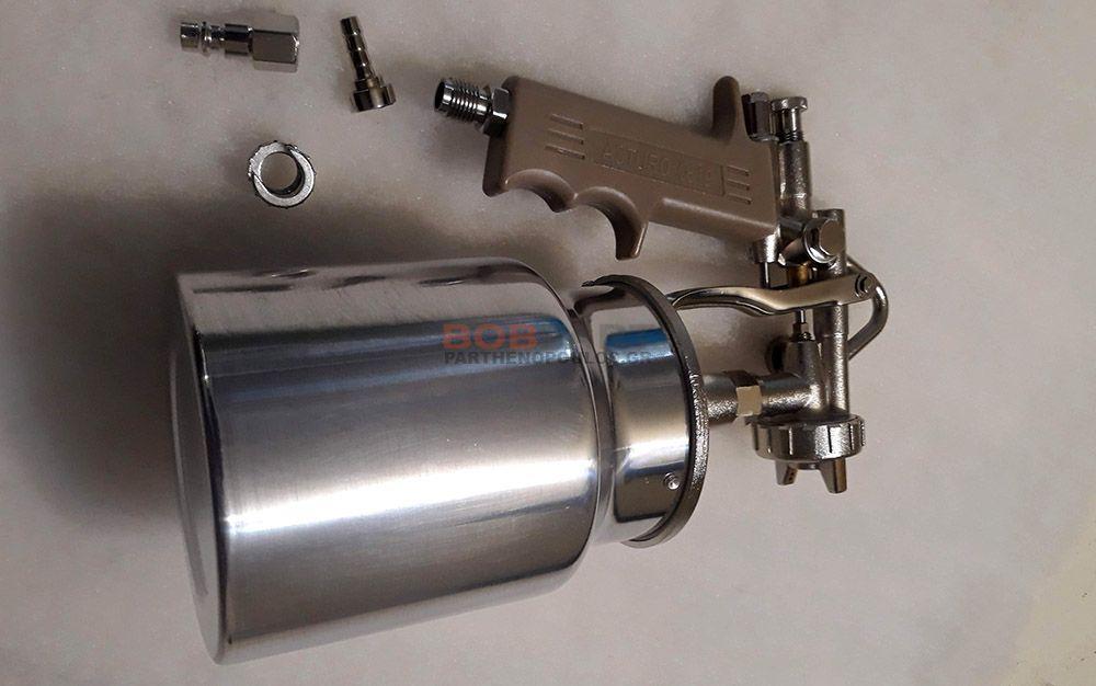 Πιστόλι βενζινόκολλας με κάτω κάδο