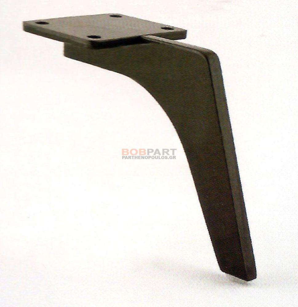 Πόδι μεταλλικό 1001   Μαύρο  16x12